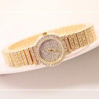 Full diamond stone with case and watchband ladies watch luxury shining dress fashion womon wristwatch FA1101