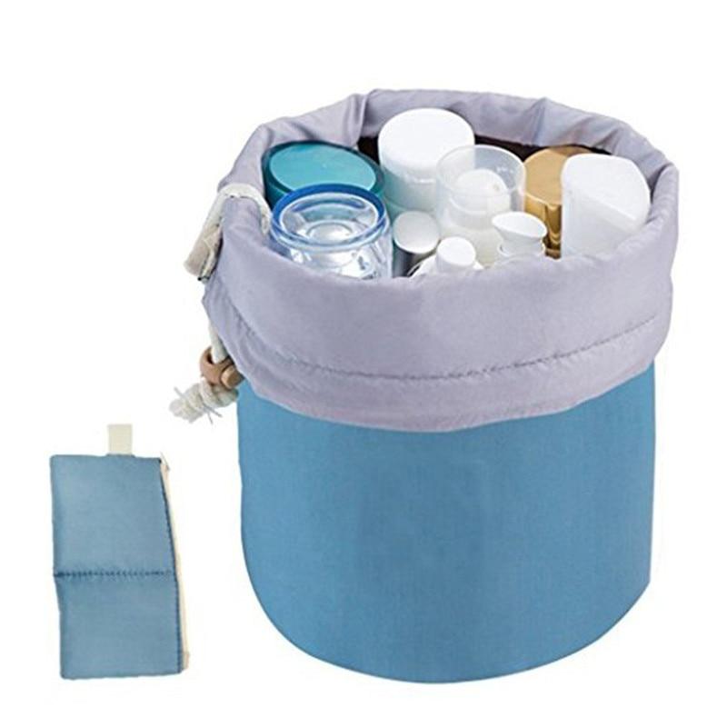 Vat Vormige Reizen Cosmetische Polyester Hoge capaciteit Trekkoord - Home opslag en organisatie - Foto 4