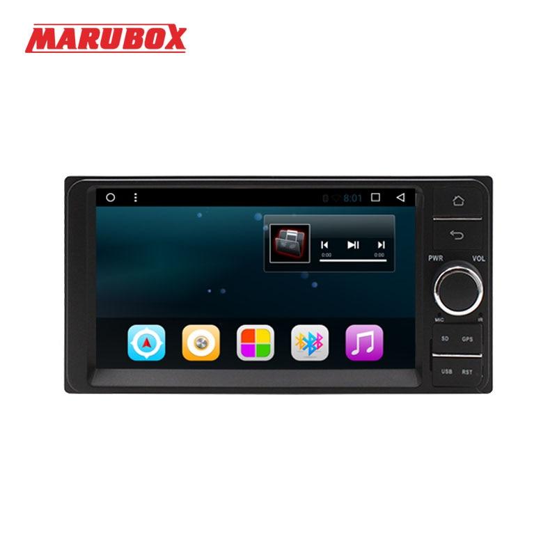 Marubox Head Unit Android 7.1 Quad Core For Toyota 2 Din Universal Wifi GPS 7 Stereo Radio Audio Car Multimedia Player 7A701R16