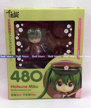 10cm Vocaloid Idol Hatsune Miku Senbonzakura Version Cute Nendoroid 480 # Action Figure collectible model toys(China)