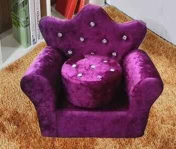 Children's Sofa. Small Sofa With Stool Mini Sofa