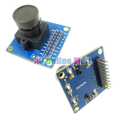 US $5 49 |OV7670 300KP โมดูลกล้อง VGA สำหรับ Arduino ใน OV7670 300KP  โมดูลกล้อง VGA