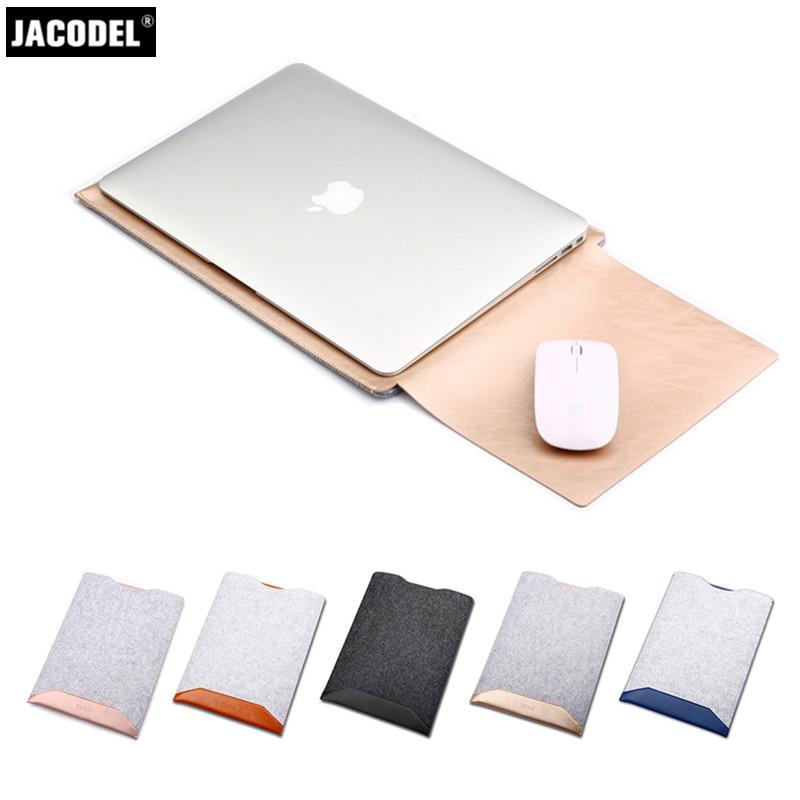 Jacodel կաշվե նոութբուքի պայուսակ Xiaomi- ի - Նոթբուքի պարագաներ - Լուսանկար 1