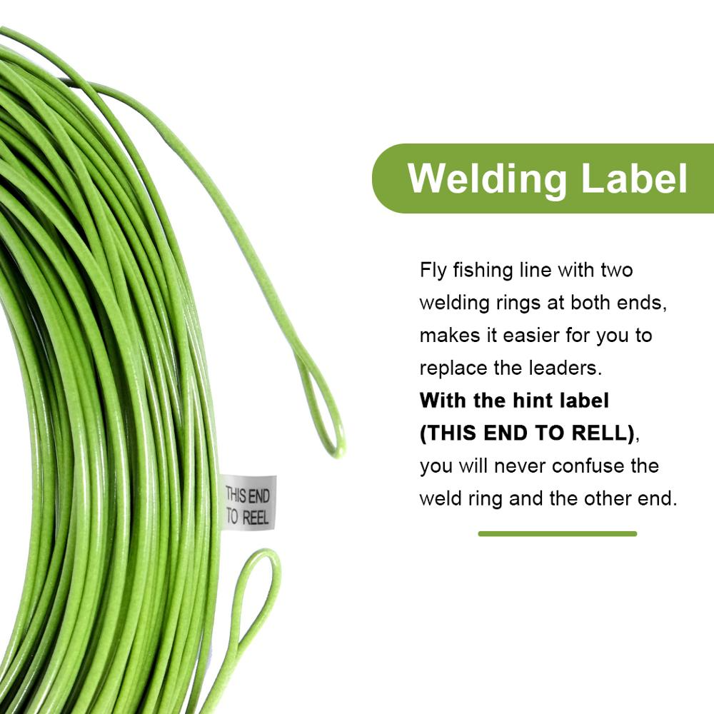Moss Green WF2 Weight Forward Floating Fly Line