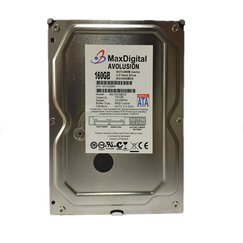 160GB HDD SATA 3.5inch 7200RPM 8MB Desktop Hard Drive Warranty for 1-year hot sale 1 year warranty for new and reatil package 432341 b21 432401 001 432401 002 750 gb 7 2k sata 3 5inch hdd