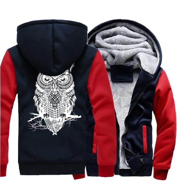 Winter Hoodie For Men Fleece Thick Sweatshirt  5