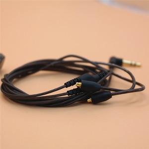 Image 5 - DIY wymiana słuchawki kabel MMCX dla Shure SE215 SE535 SE846 UE900 ulepszony 14 rdzeni zestaw słuchawkowy przewód Audio dla iphone Android