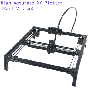 Image 2 - DIY XY Plotter drawbot pen drawing robot machine lettering corexy A4 A3 engraving area frame plotter robot kit for drawing
