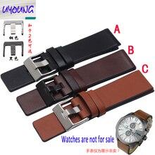 Youyang обычный кожаный ремешок для часов DZ1399 DZ4280 DZ4290 24 26 28 мм часы Diesel ремешок