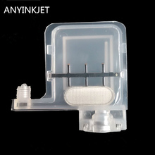 цена transparent big damper DX5 big damper with square type head for Epson Mutoh Wit Color  Infinity Xenons  DX5 printer plotter