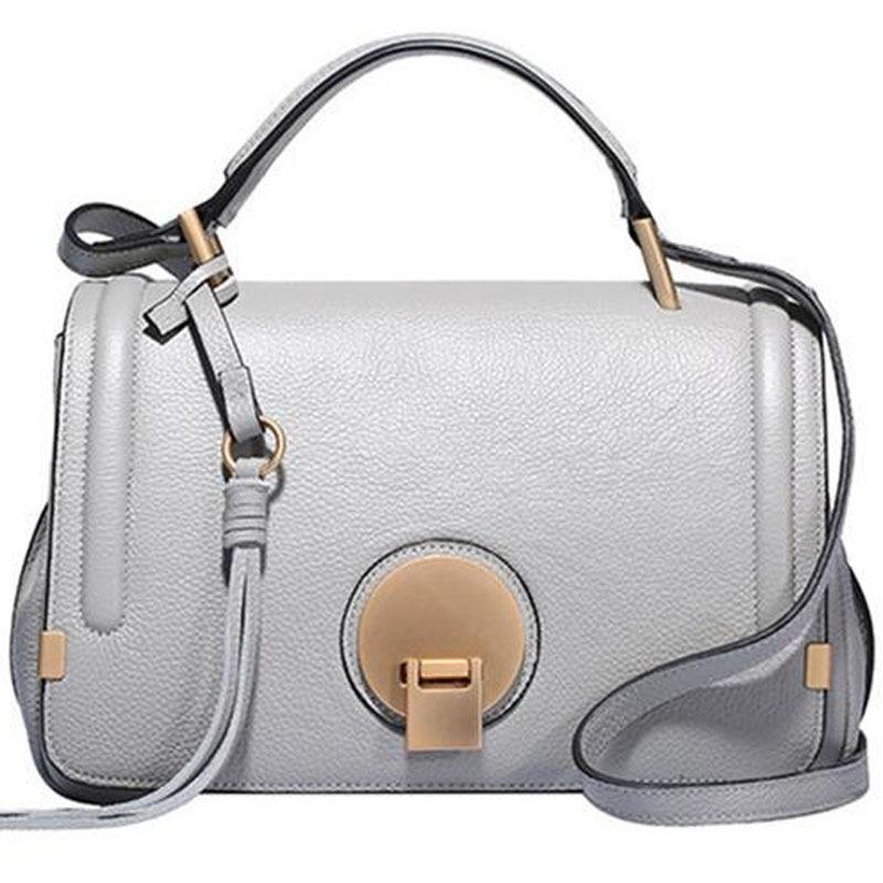 New Luxury Famous Brand Designer Bag Women Shoulder Handbag Real Genuine Leather Messenger bags Handbags for Ladies bolsa LY109