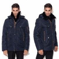 Зимние Smart повседневное Snowimage для мужчин качество теплые утепленная верхняя одежда 3 м хлопок наполнитель ягнят импортные мех