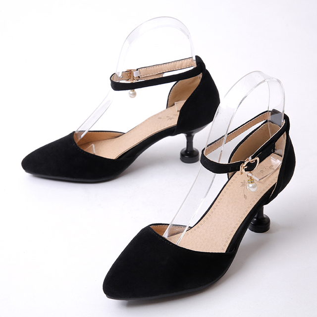New Wedding Shoes Big Size 46 47 Ladies Spring Summer Sandals Shoes Women High Heels Pumps Sapato 557