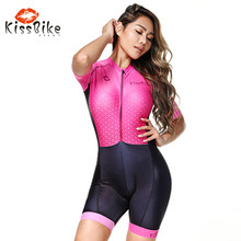 2019 FRENESI pink Swimwear women outdoor Riding clothing ciclismo Triathlon custom cycling jersey Running suit maillot nsa professional triathlon ironman training cycling one piece suit for men and women wetsuit riding wear bicycle suit swimwear