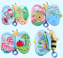 Jollybaby 1 pcs butterfly bee multifunctional baby cloth book early education colorful animals book.jpg 250x250