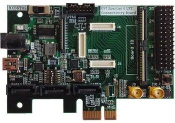 Para Spartan 6 XC6SLX45T    Xilinx PCIe SATA II