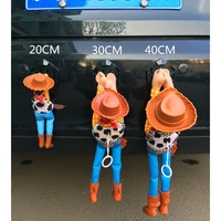 Funny Lovely Toy Story Sherif Woody For Car Doll Outside Hang Toy Cute Muneca Auto Accessories