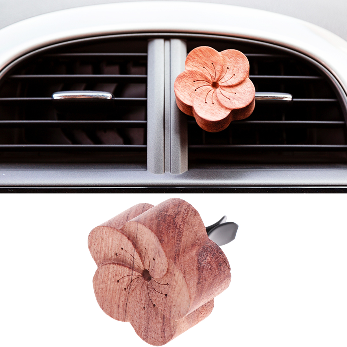 1pc Cute Aromatherapy Fastener Clip Air Vent Clip Fragrance Accessories Car Air Freshener Decoration