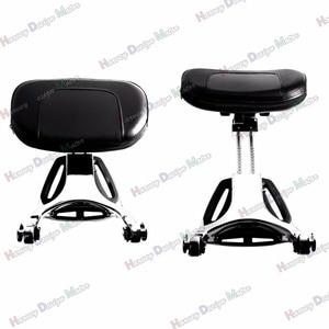 Image 5 - Chrome Fixed Mount&Driver Passenger Backrest For Harley 2004 2014 2015 2016 2017 Sportster XL Iron 883 1200 48