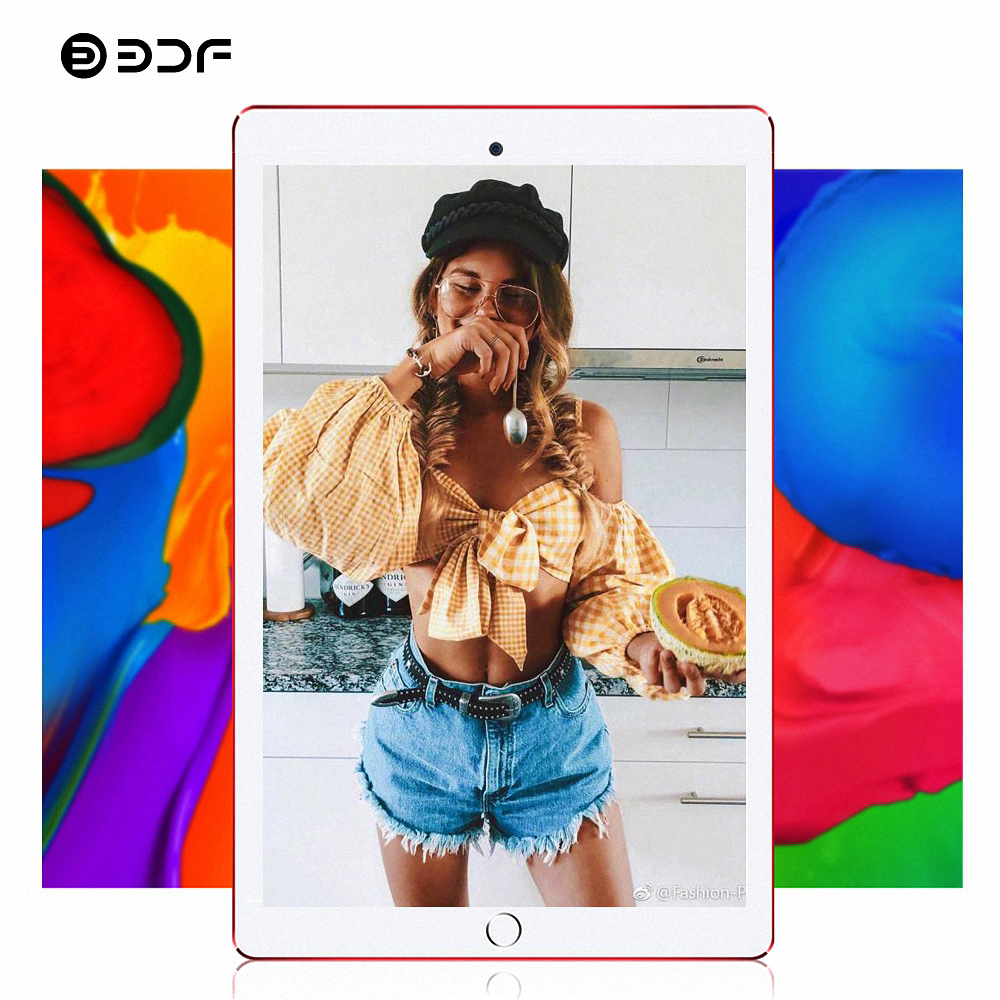 BDF Tablet 10 Inch 3G Phone Tablet Pc Android 7.0 IPS 1280*800 Quad Core 1GB RAM 32GB ROM Bluetooth WiFi Pc Tablets 10.1 image
