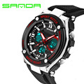 Men Sport Watches Men's Digital Watch Shock Resistant Quartz Alarm Wristwatches SANDA Top Brand Luxury Electronic Digital-watch