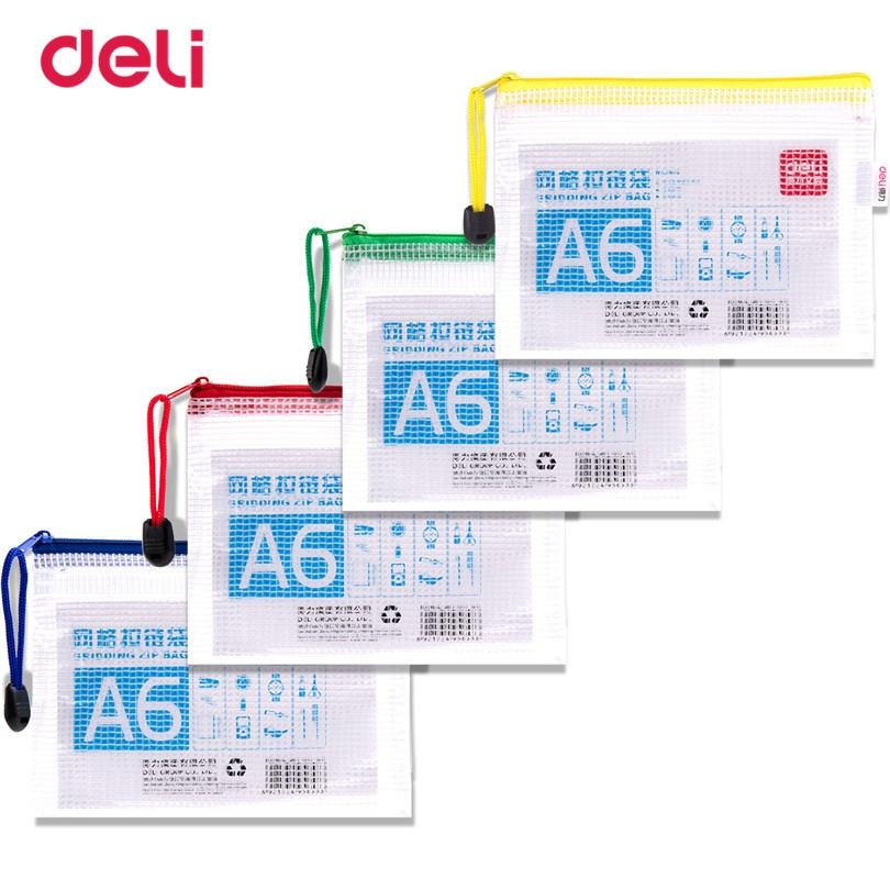 Deli School File Folder For Business Supplies Practical Statioenry Papel A6 Learning Waterproof Office Presentation Folder