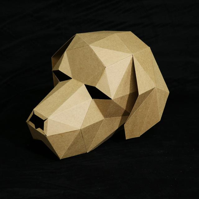 Animaux de la Ferme – Paper Mask 3D Creative