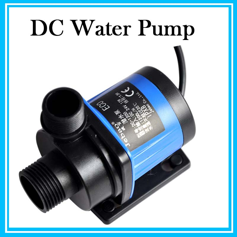 Aquarium 1200L/h Adjustable flow Quiet Water Pump Marine Aquarium Fish Tank Submersible Pump