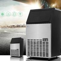 Máquina de fazer Gelo comercial máquina De fazer Gelo 55 kg para loja de chá de leite máquina de gelo quadrado