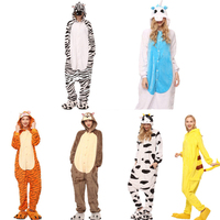 New Animal Stitch Star Unicorn Women Pajamas Hooded Kigurumi Full Unisex Sleepwear Character Adult Winter Fannel