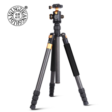 factory wholesale new design camera tripod, carbon fiber tripod kit  with monopod and ball head, digital  camcorder tripod