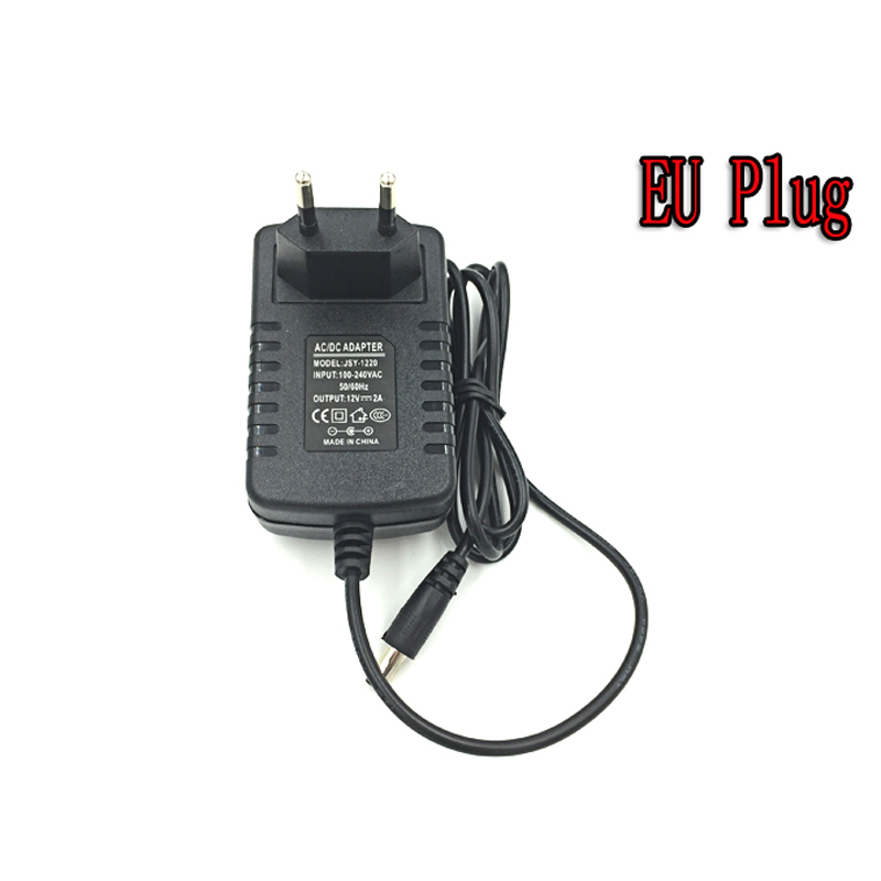 LED Power Supply Charger Transformer Adaptor AC110V 220V ke DC12V 2A Power Charger Untuk LED Strip Light