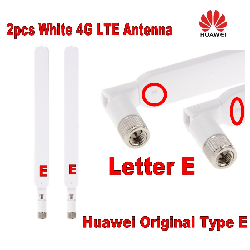 GENUINES Huawei B525 B593 B315 B310 Pair 2X External Antenna Type E