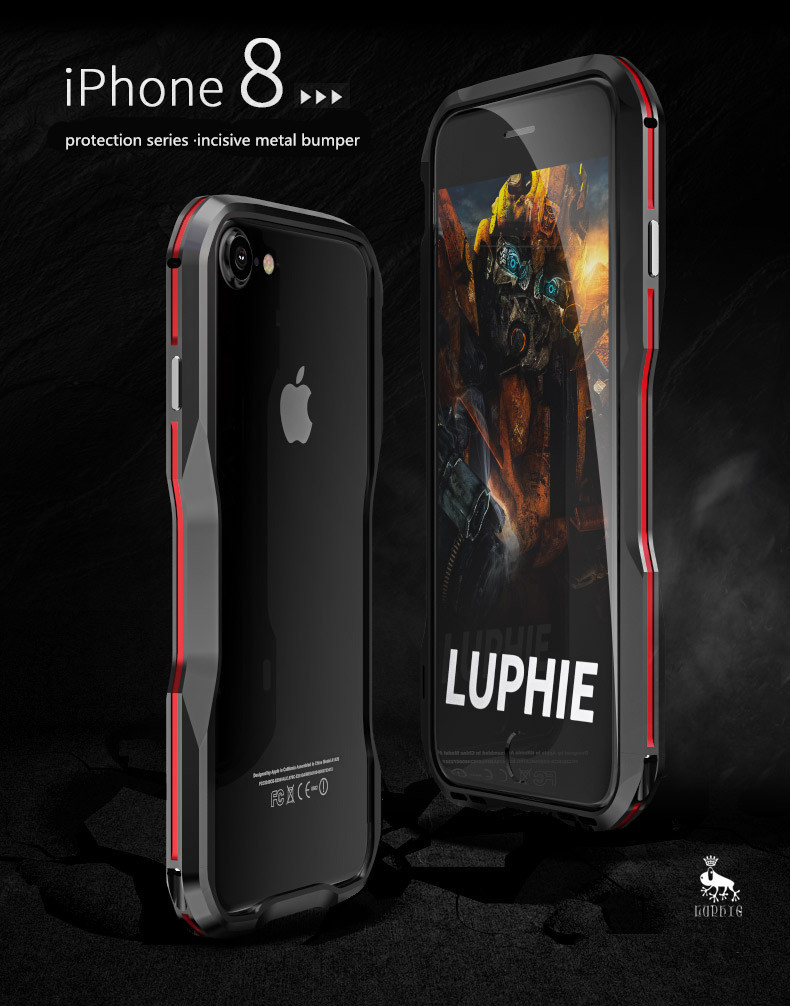 iPhone X 7 8 Plus Luphie Metal Bumper Aluminum Case (17)