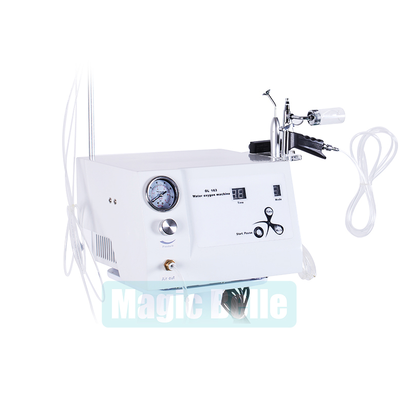 Newest Water Oxygen Injection Jet Beauty Device Skin Care Removing Acnes Oxygen Facial Machine For Home Use