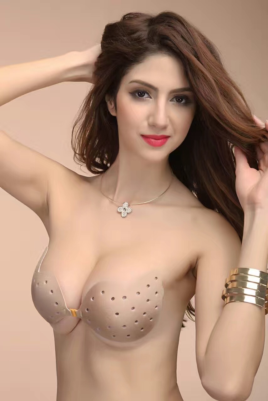 Sexy Invisible Bra Bralette Adhesive Fly Silicone Bra Breast Petals Strapless Push Up Bra Backless V Sujetador Bras For Women
