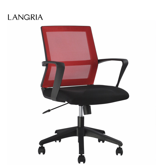 Ordinaire AU In Stock LANGRIA Mid Back Red Mesh Swivel Task Chair Office Chair  Leisure Chair
