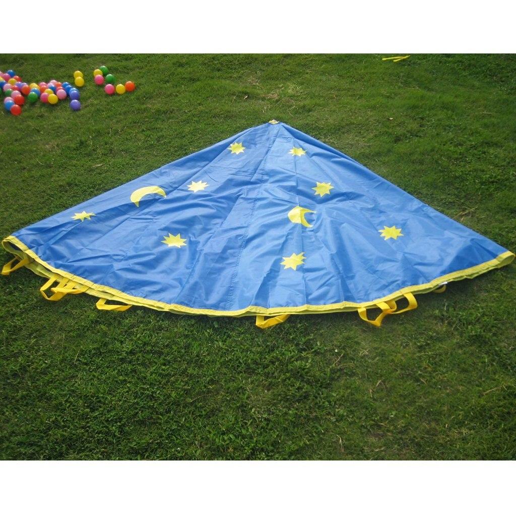 Parapluie Parachute jouet intérieur extérieur amusant jeu coopération sensorielle apprentissage jouets éducatifs pour enfants enfants en bas âge - 4