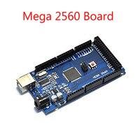 Mega 2560 R3 Mega2560 REV3 ATmega2560 16AU CH340G Board ON USB Cable Compatible For Arduino Free
