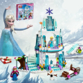 JG301 SY373 Anna Elsa Snow Queen Elsa's Sparkling Ice Castle Building Toys Blocks Brick Compatible Friends Lepin with Legoe Toys