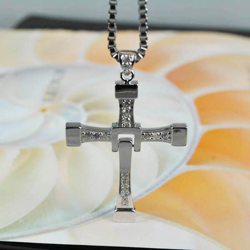 STARYEE 925 Sterling Silver The Fast and Furious 8 Dominic Toretto ...