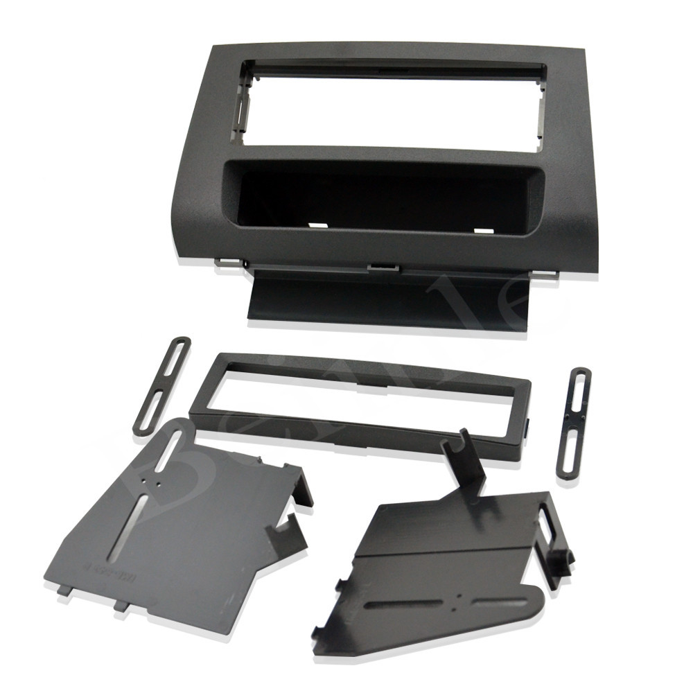 1 Din Car Fascia Panel Frame / Audio Panel Frame / Car Dash Frame Kit For Mazda 3 2004 2005 2006 2007 2008 2009 Free Shipping ityaguy fascia for ford ranger 2011 stereo facia frame panel dash mount kit adapter trim