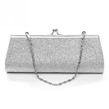 Woman Evening bag Shiny Glitter Clutch Purse Bag Evening Party Wedding  Bridal Banquet Handbag Shoulder Bag. 5 Colors Available 099b0c8c1fe8
