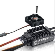 F17833 Platinum V3 100A Built in BEC Speed Controller 2-6S Lipo Brushless ESC for RC Drone Helicopter Aircraft