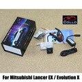 Para Mitsubishi Lancer EX/Evolution X/luz de Aviso de Alarme A Laser Luzes de Nevoeiro/Auto Acessórios Traseira Anti-Taillight colisão