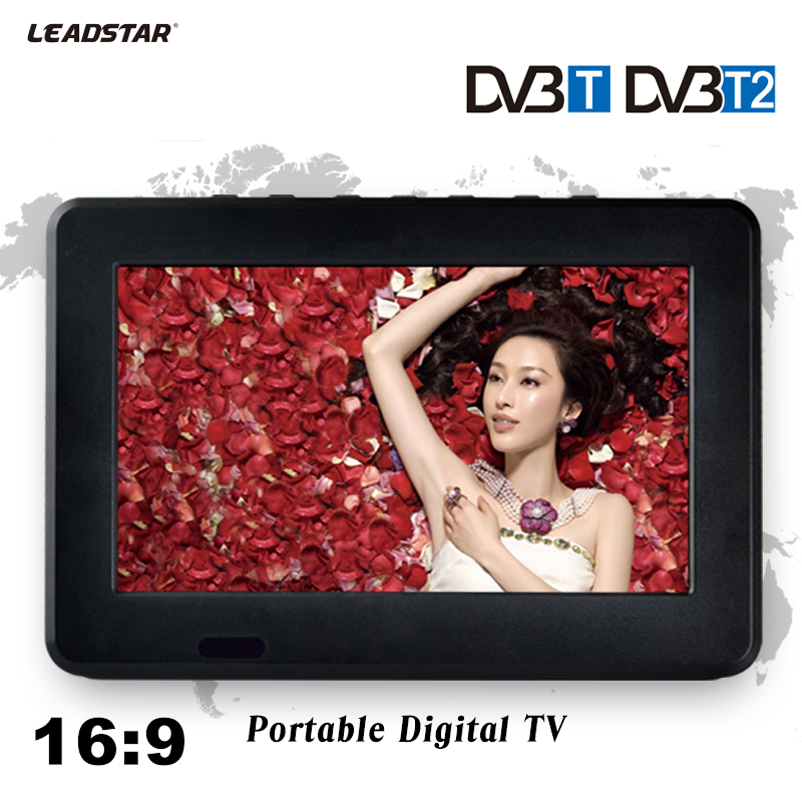 HD TV DVB-T2 DVB-T 7 Inch Digital And Analog TV Receiver And TF Card And USB Audio And Video Playback Portable DVB-T2 Television free shipping digital hd tv 9inch dvb t2 tv and analog television receiver and usb audio and video playback portable dvb t tv