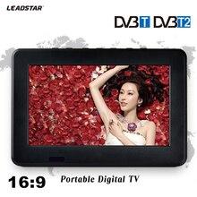 DVB-T2 TV HD DVB-T récepteur TV numérique et analogique 7 pouces et carte TF et lecture Audio et vidéo USB télévision DVB-T2 Portable