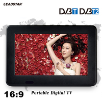 HD TV DVB T2 DVB T 7 Inch Digital And Analog TV Receiver And TF Card