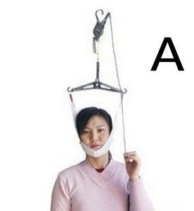 Шейное тяговое устройство через дверь массажер для шеи набор носилок Регулировка хиропрактики массажер для спины Релаксация