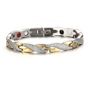 Twisted Healthy Magnetic Bracelet for Wo